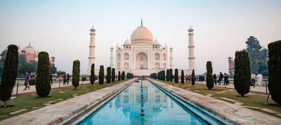 Sublime Taj Mahal d'Agra - voyage Inde