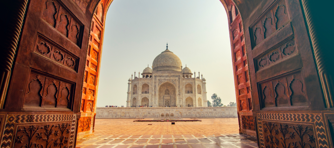 Porte Taj Mahal - Voyage Inde