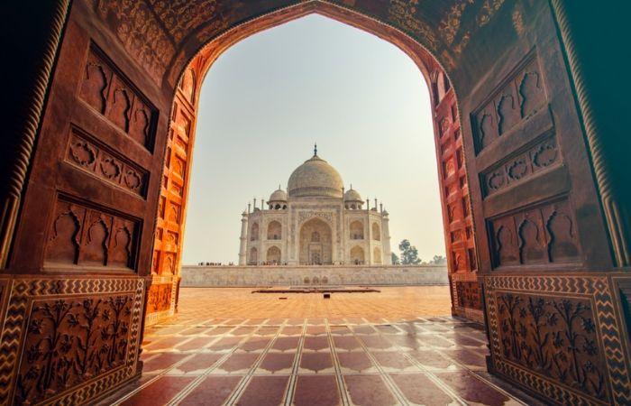 Taj Mahal Agra Rajasthan