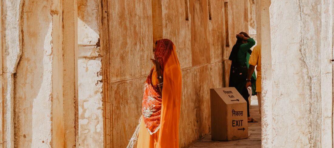 Scène de rue à Jaipur - voyage Inde