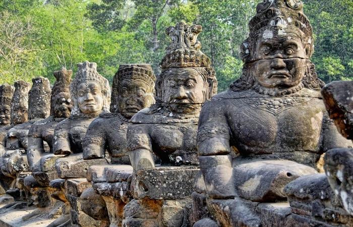 Temples Angkor Cambodge