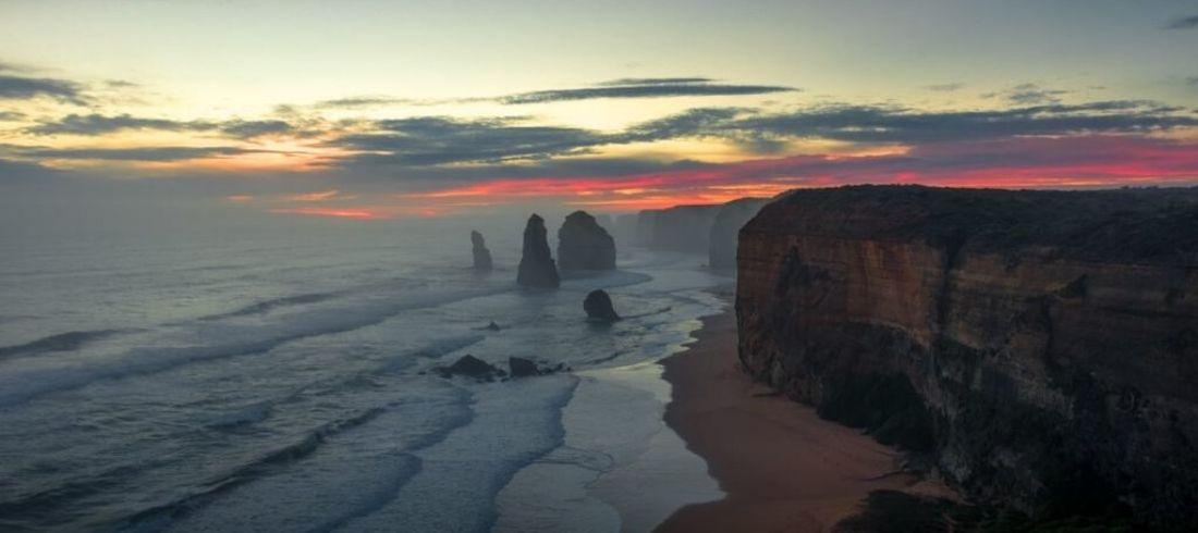 Douze apôtres Great Ocean Road Australie Melbourne