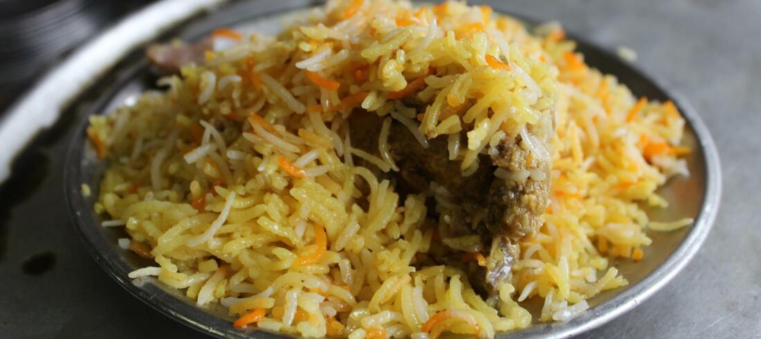 Biryani, plat traditionnel - voyage Inde