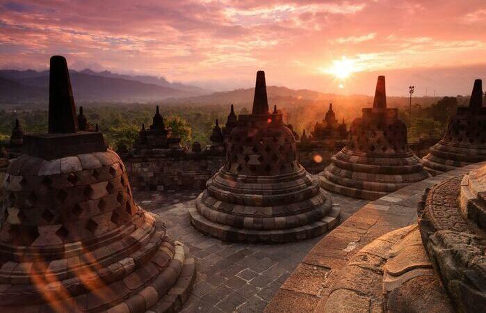 Java Temple Borobudur Indonésie Bouddhisme