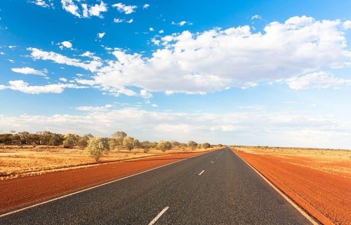 Grand route Australie grands espaces