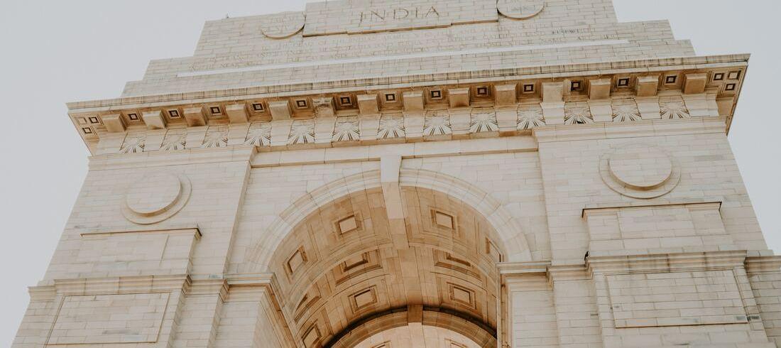 L'India Gate à Delhi - voyage Inde
