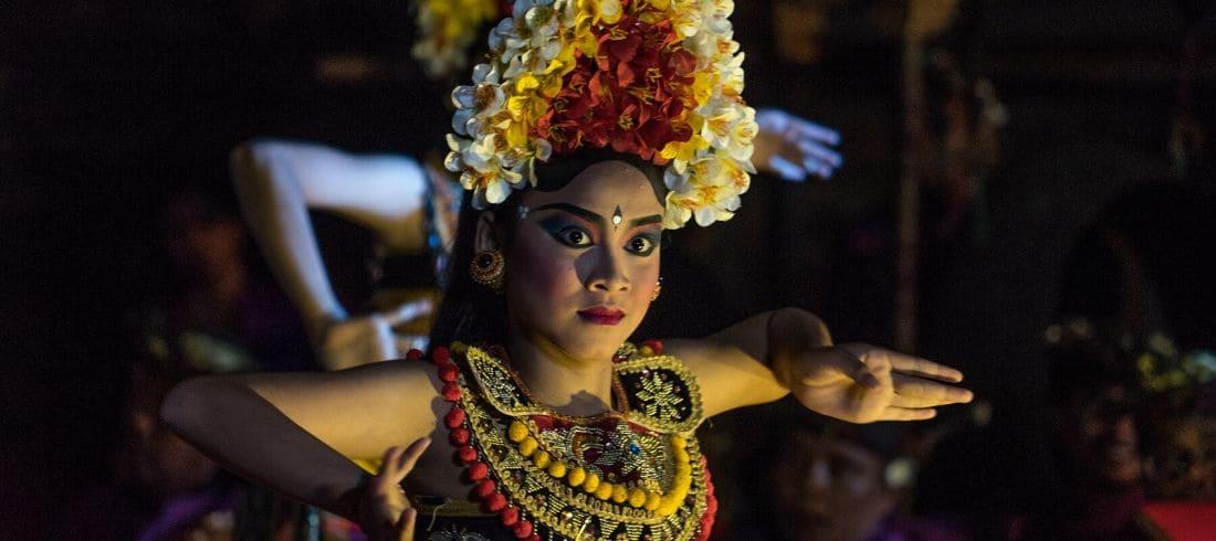 Danseuse Barong Indonésie