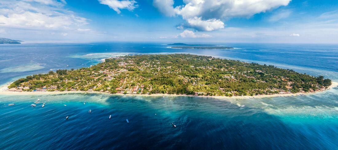 Gili Air île paradis eau turquoise Indonésie
