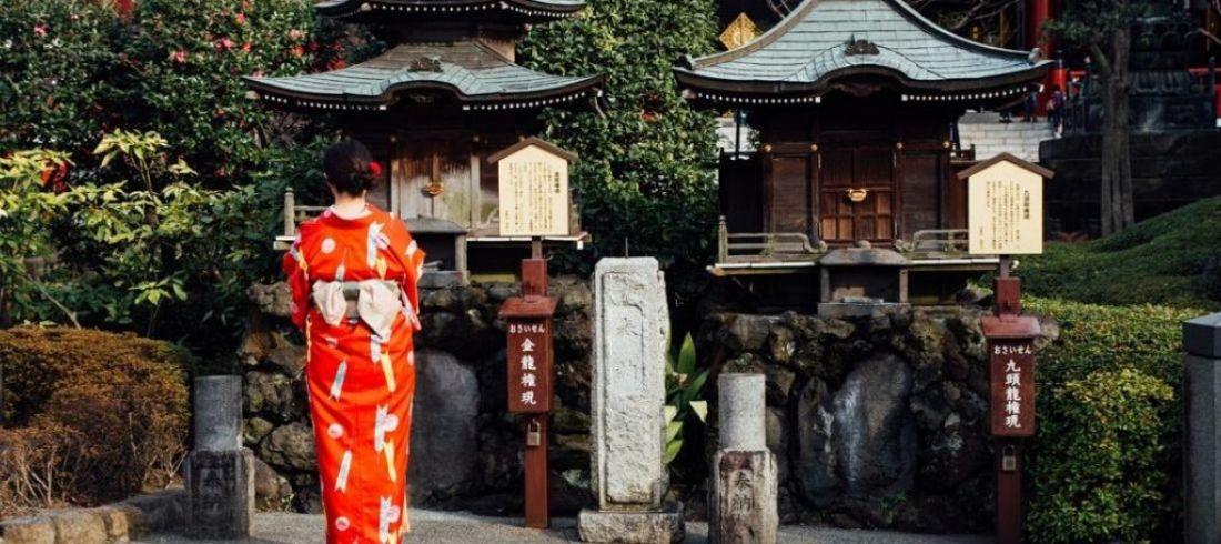 Geisha à Tokyo - voyage Japon