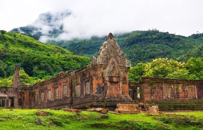 Temple Wat Phu Sud Laos Champassak