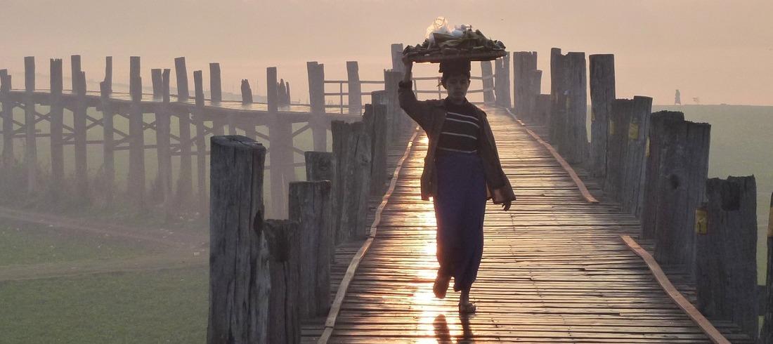 Pont U-Bein à Mandalay - voyage Birmanie