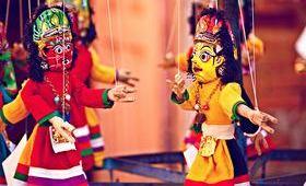 Spectacle de marionnettes - voyage Asie