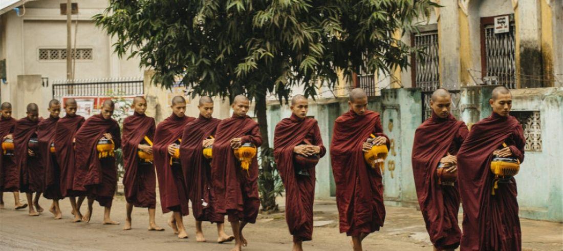 Moines - Voyage en Birmanie - Asie Online