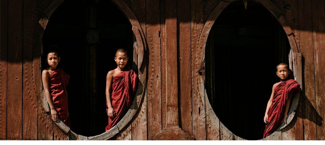 Monastère - Voyage en Birmanie - Asie Online