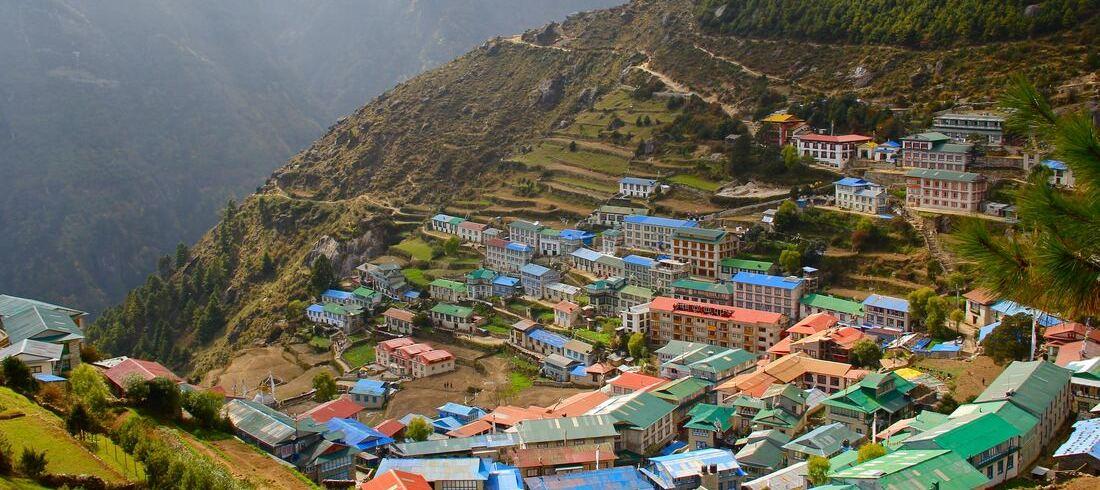 Village népalais - voyage Népal