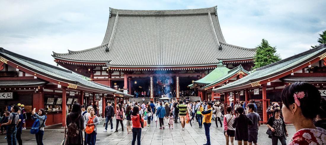 Temple Senso-ji à Tokyo - voyage Japon