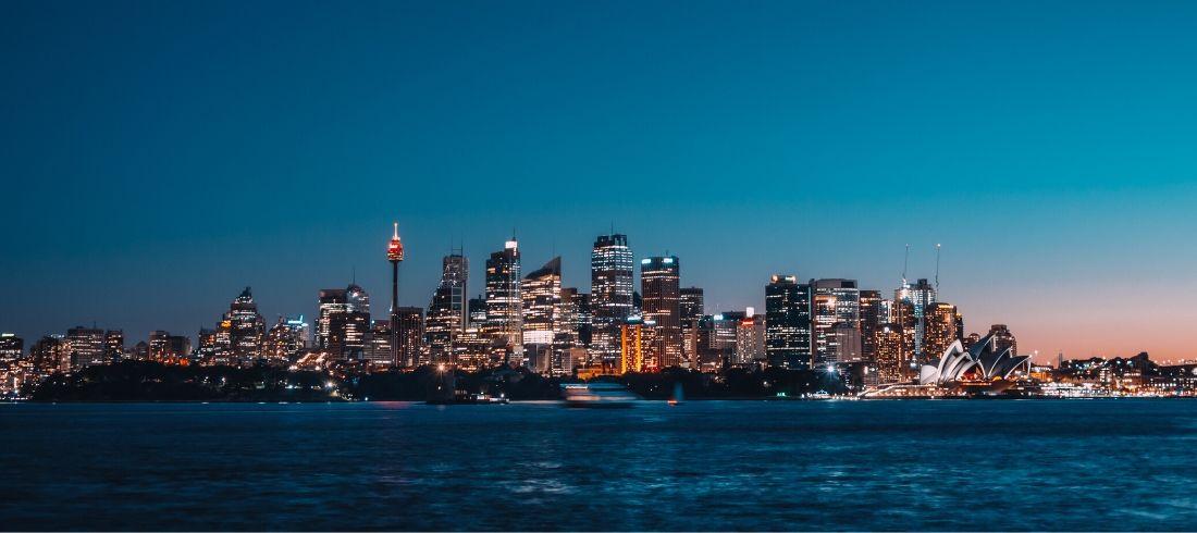 Sydney nuit - Voyage Australie