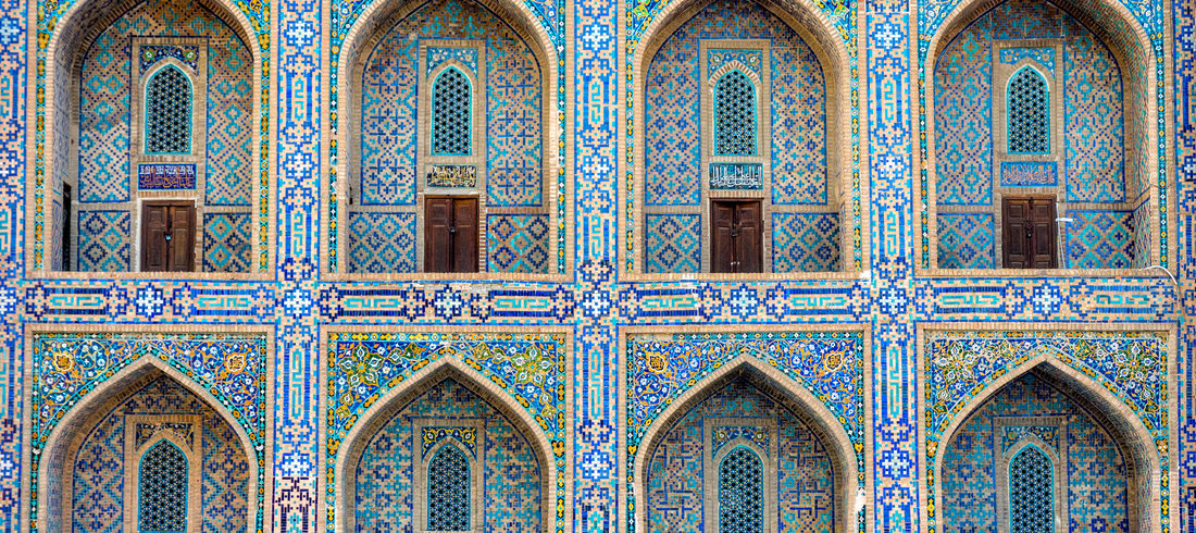 Arches du Rgistan - Samarcande - voyage Ouzbékistan