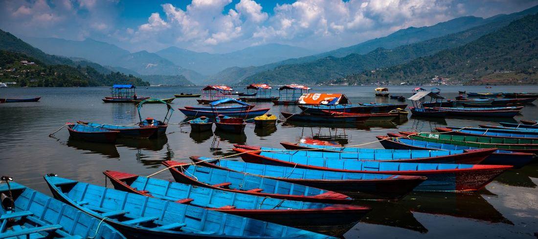 Lac Phewa à Pokhara - voyage Népal