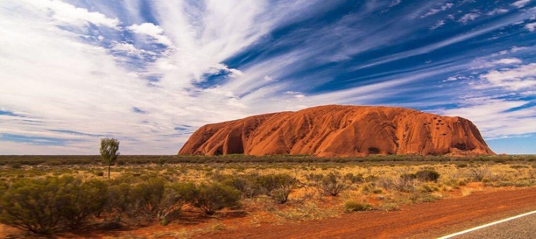 Uluru Centre rouge Ayers Rock