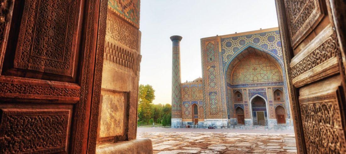 Place Registan Samarkand