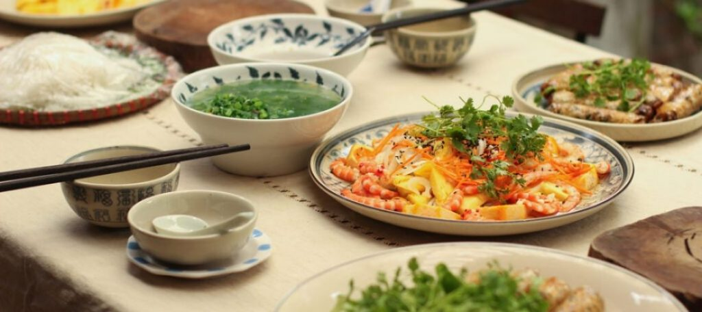 Cuisine traditionnelle - voyage Vietnam