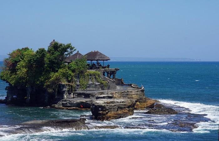Tanah Lot Temple Bali mer