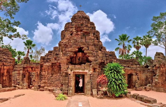 Temple Angkor Cambodge
