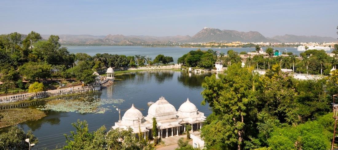 Lac Pichola à Udaipur - voyage Inde