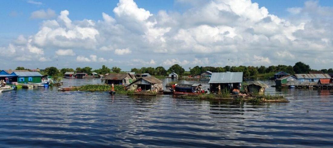 Village flottant lac Tonlé Sap Siem Reap