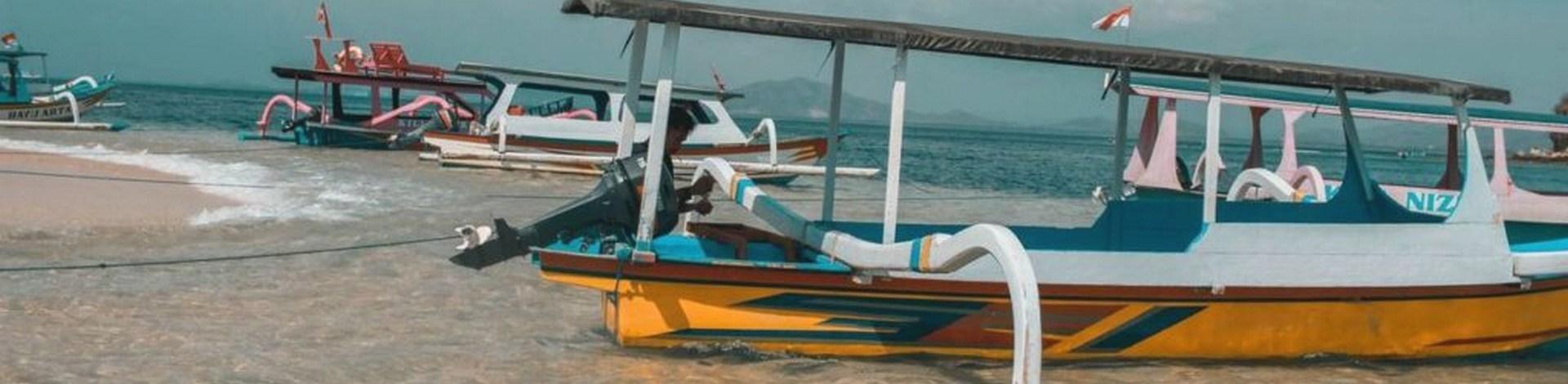 Barque Bali bateau Indonésie