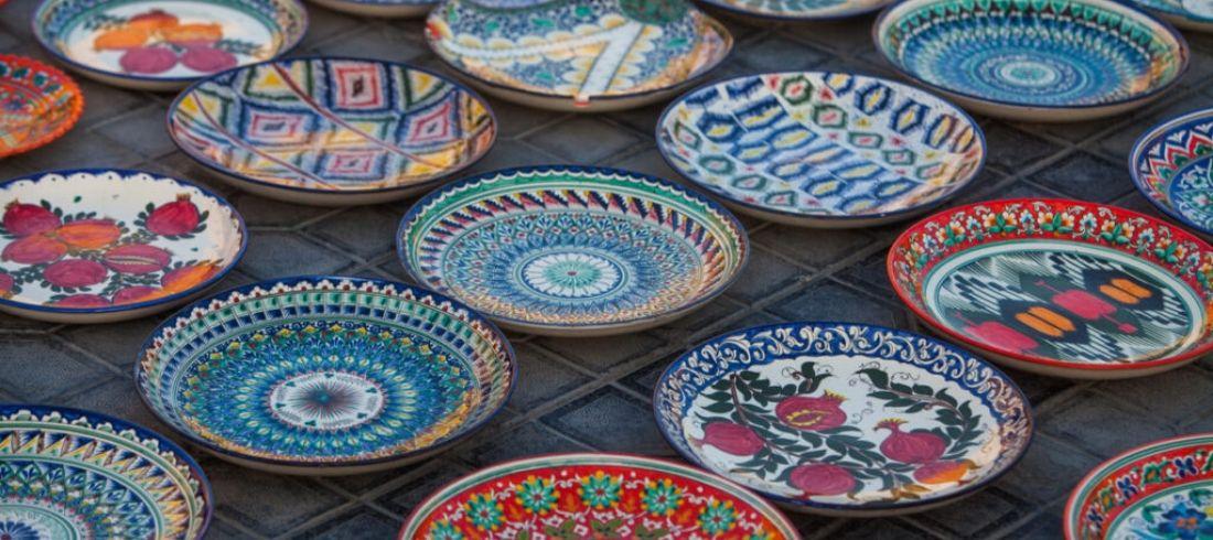 Céramique traditionnelle Ouzbékistan