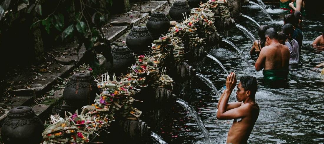Tirta Empul - voyage Bali