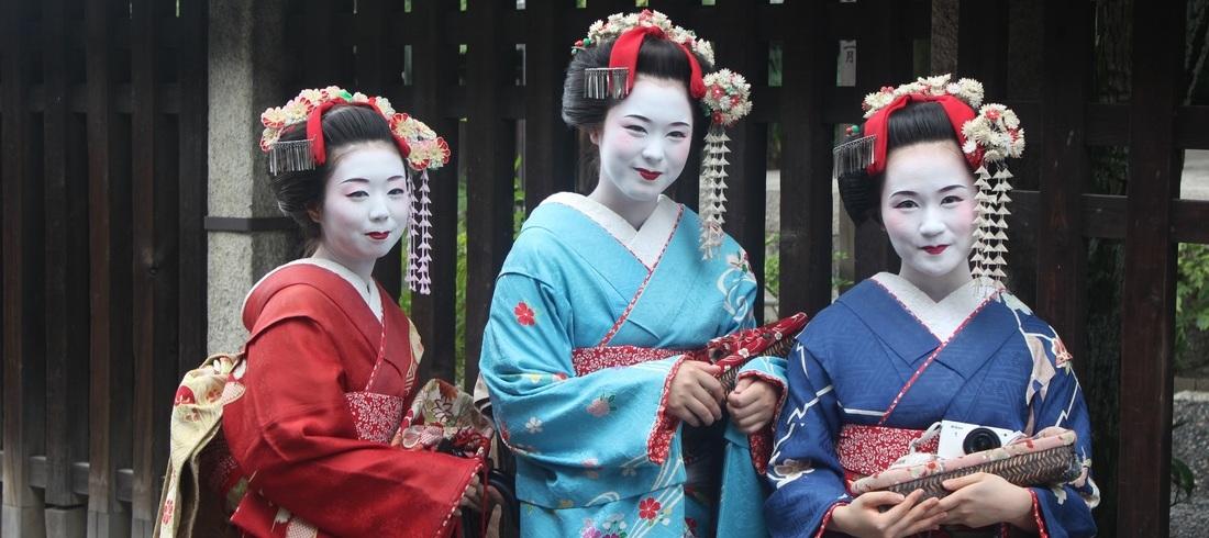 Geishas - voyage Japon