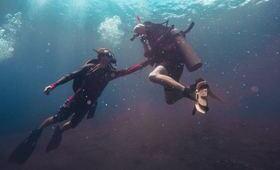 plongee bouteille mer ocean eau masque palme