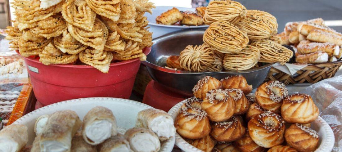 Pâtisseries traditionnelles orientales Ouzbékistan