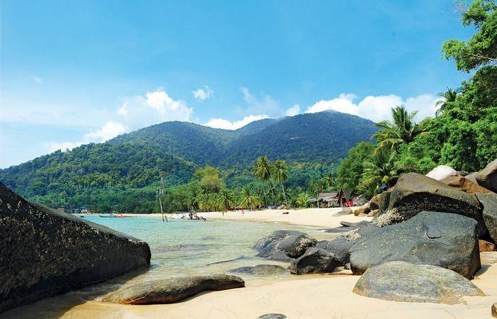 Perhentian Redang îles paradiaques plage sable blanc