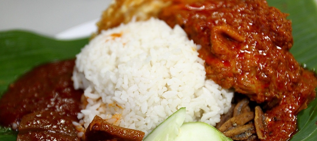 Plat Nasi Lemak - voyage Malaisie
