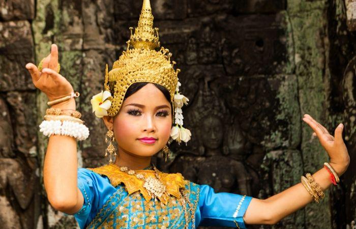 Danses Apsara Cambodge - Asie Online