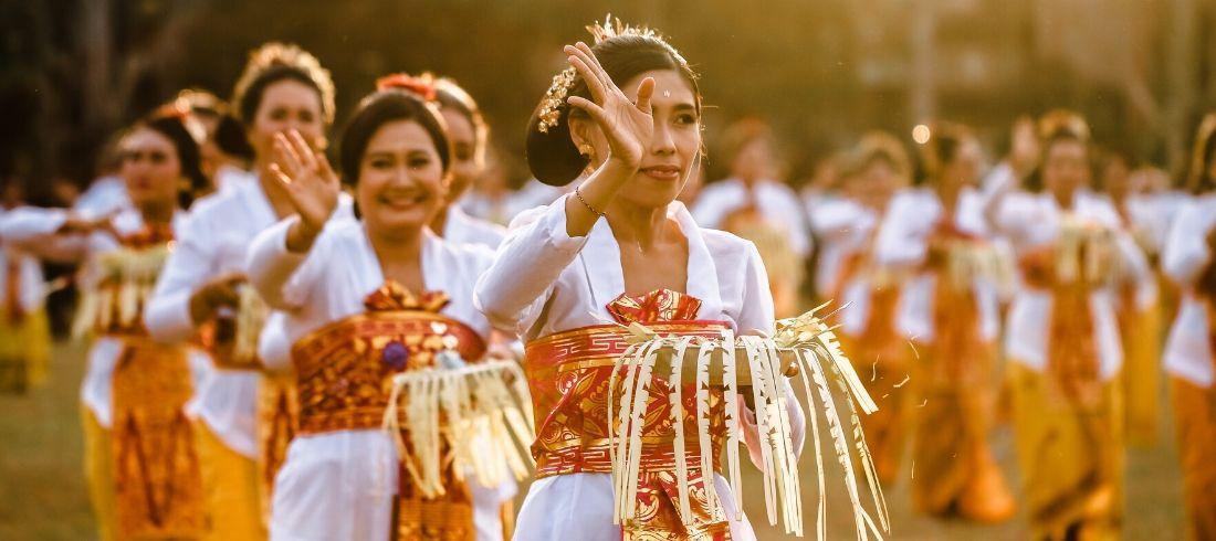 Danseuses Balinaises
