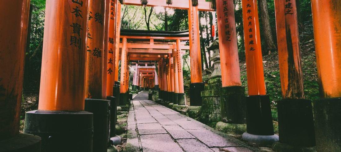 Fushimi-inari à Kyoto - voyage Japon