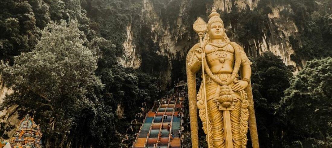 Grottes Batu Caves Kuala Lumpur