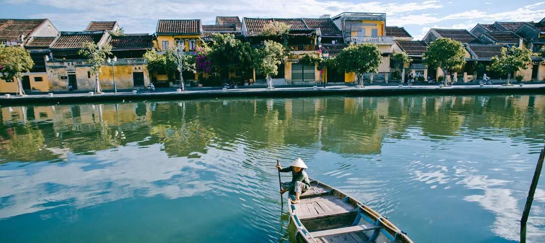 Rivière Thu Bon à Hoi An - voyage Vietnam