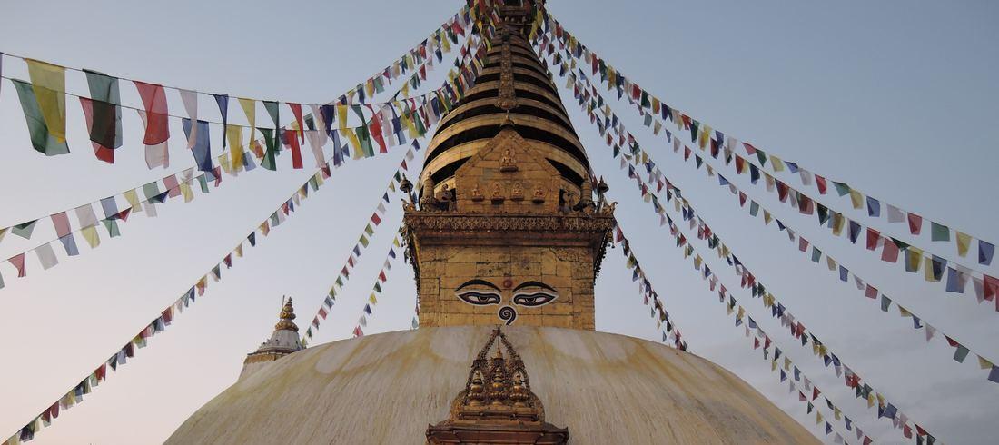 Swayambhunath Stupa - Katmandou - voyage Népal