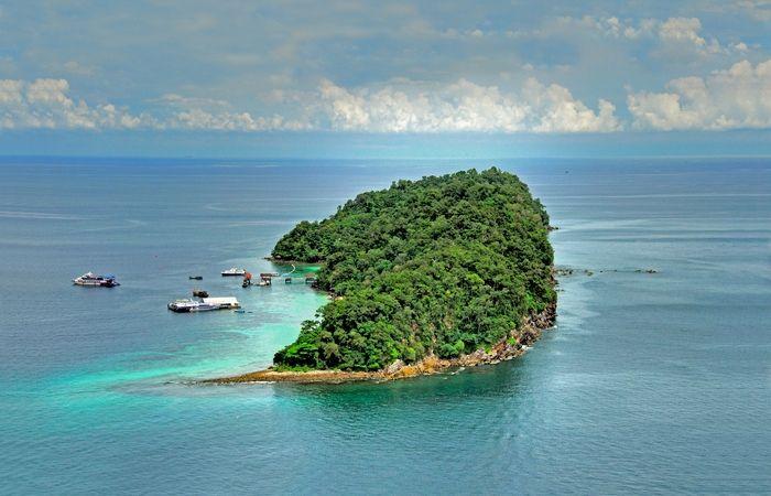 Ile paradisiaque Malaisie