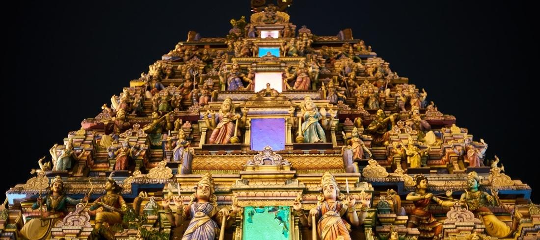 Temple hindou - voyage Malaisie