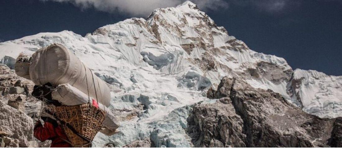 Sherpa ascension trek Annapurna Népal