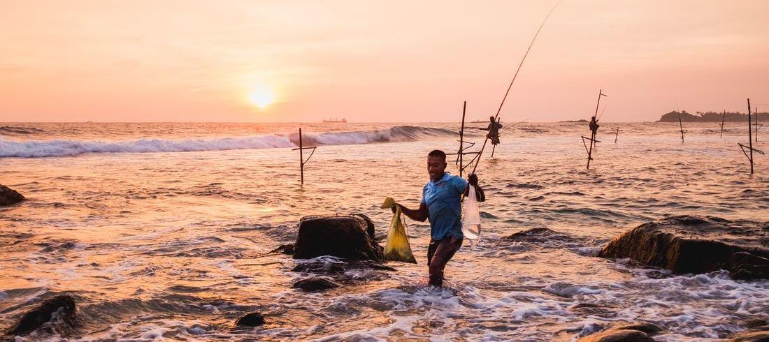 Pêcheurs Galle Weligama