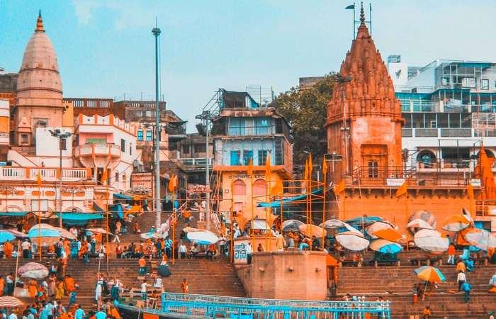 Varanasi ghats Benares Gange