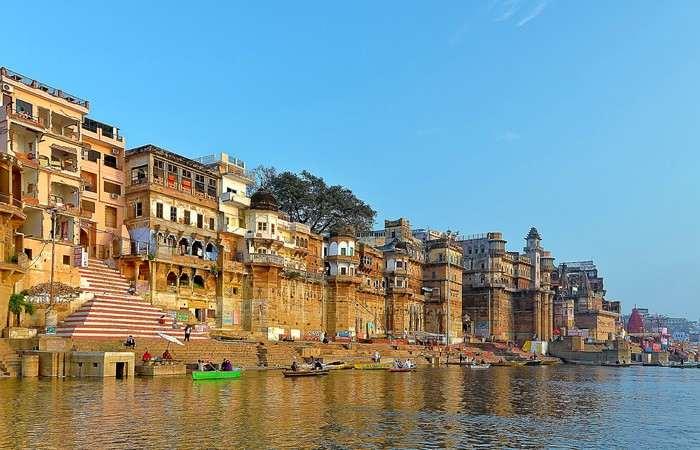 Varanasi Benares ghats Gange